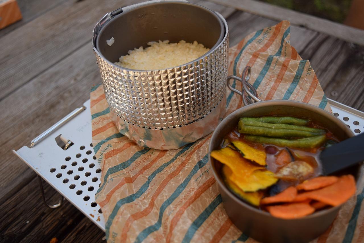 【ULキャンプ飯】フリーズドライで最高に軽くて美味いカレーをつくろう!