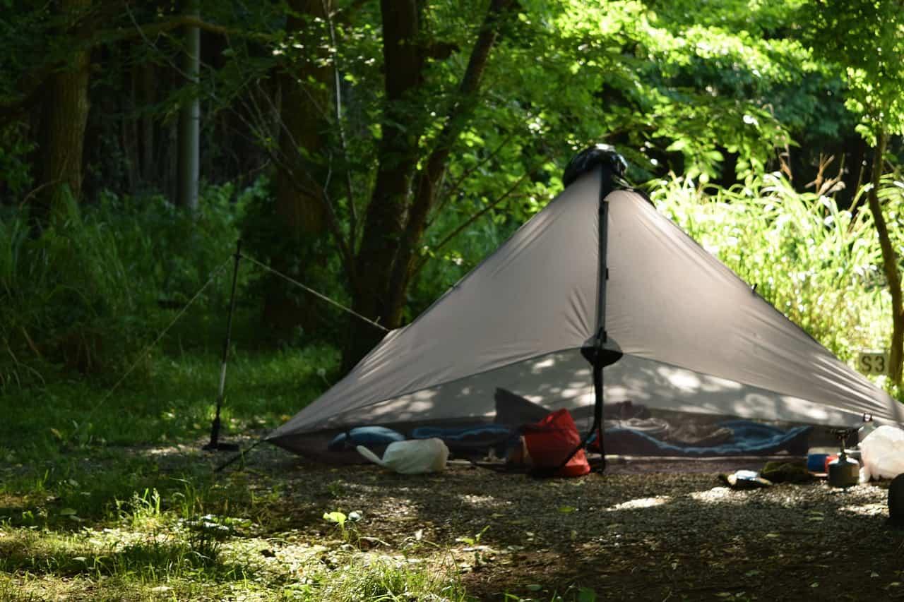 【軽量キャンプ入門】フロアレスなテントでキャンプをする事は果たして可能なのか?