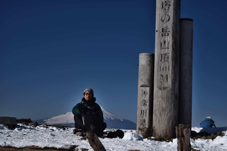 【登山】塔ノ岳と鍋割山の雪上ハイキング!「ギア編」