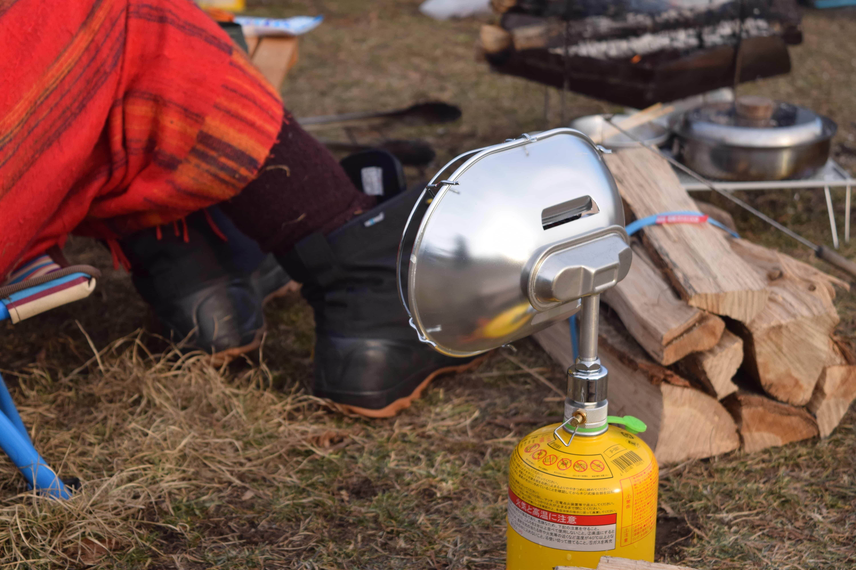 【ギアレビュー】軽量冬キャンプのヒーターに中国製BRSのガスヒーターがとっても暖かい!