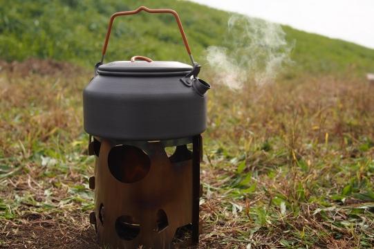 【ギア紹介】ピコグリル85で更に軽量キャンプの焚火を楽しむ。