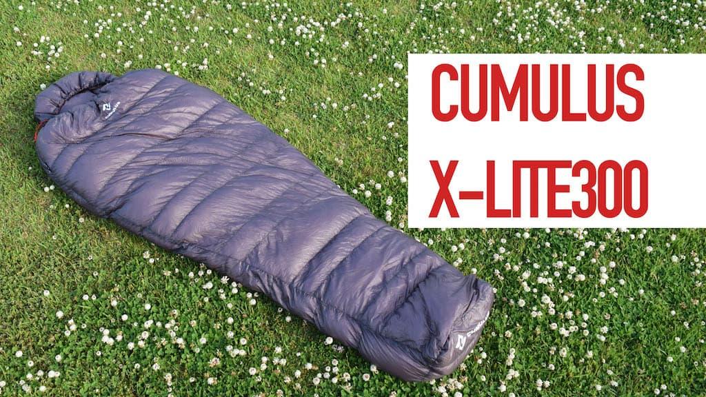 900FP!?キュムラスのシュラフ「X-LITE300」を購入したので紹介!